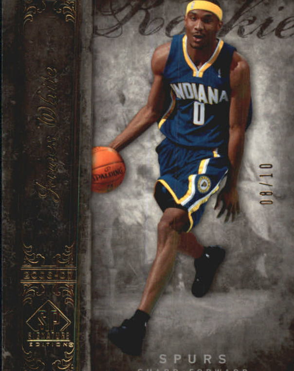 2006-07 SP Signature Edition Gold #129 James White