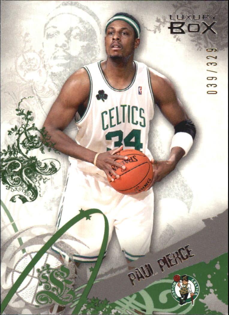 2006-07 Topps Luxury Box Green #34 Paul Pierce