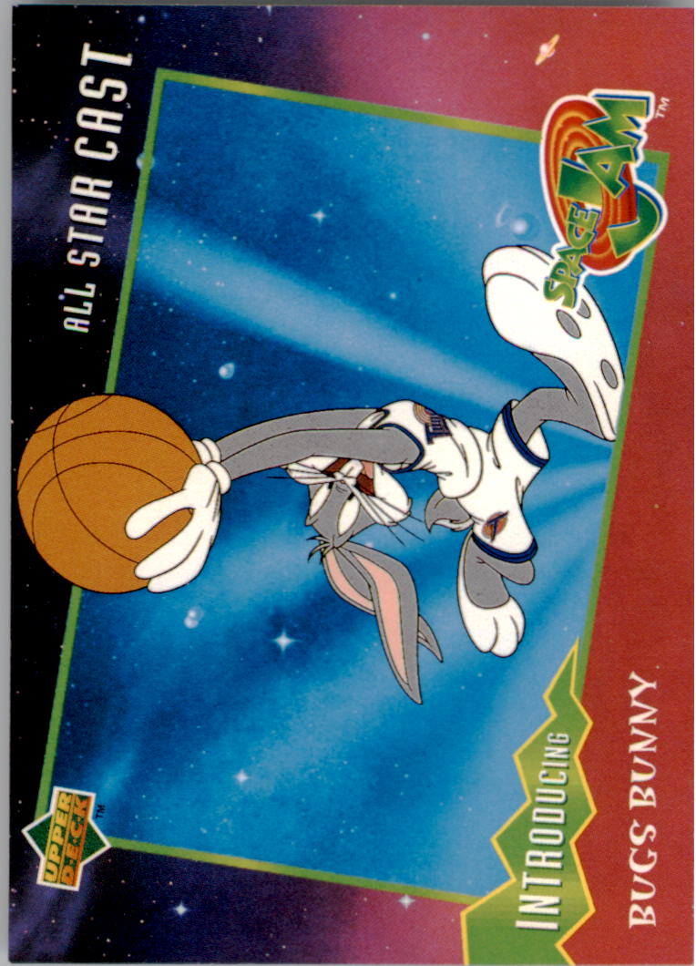 1996-97 Upper Deck Space Jam #1 Bugs Bunny
