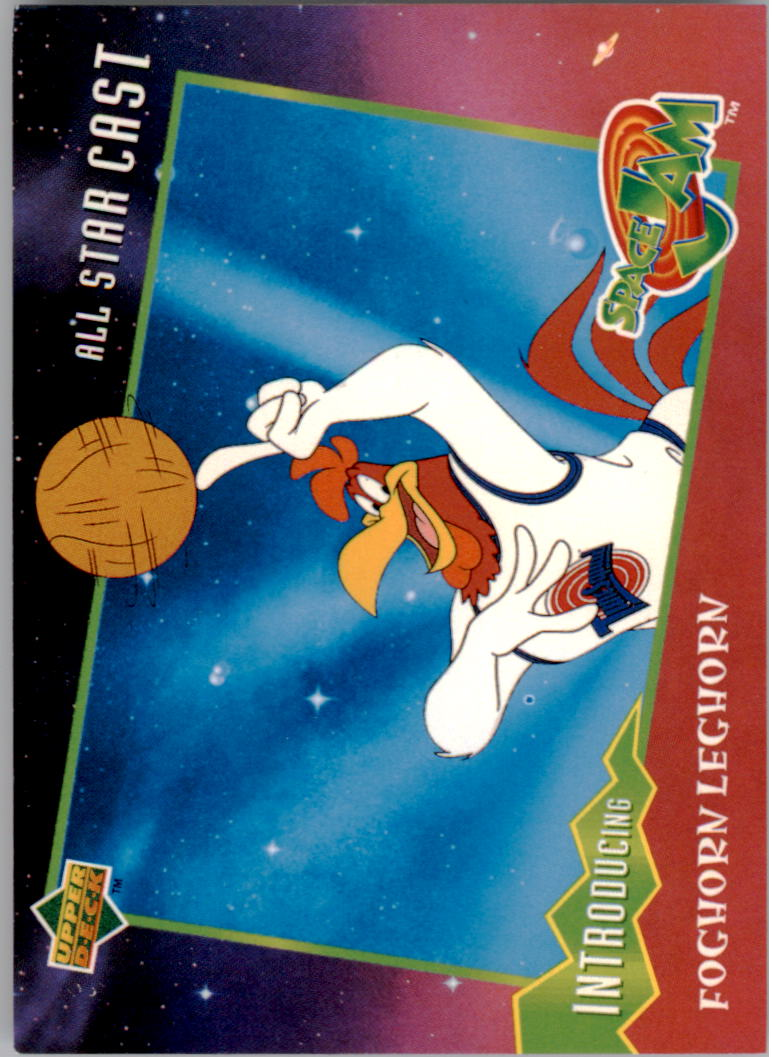1996-97 Upper Deck Space Jam #16 Foghorn Leghorn