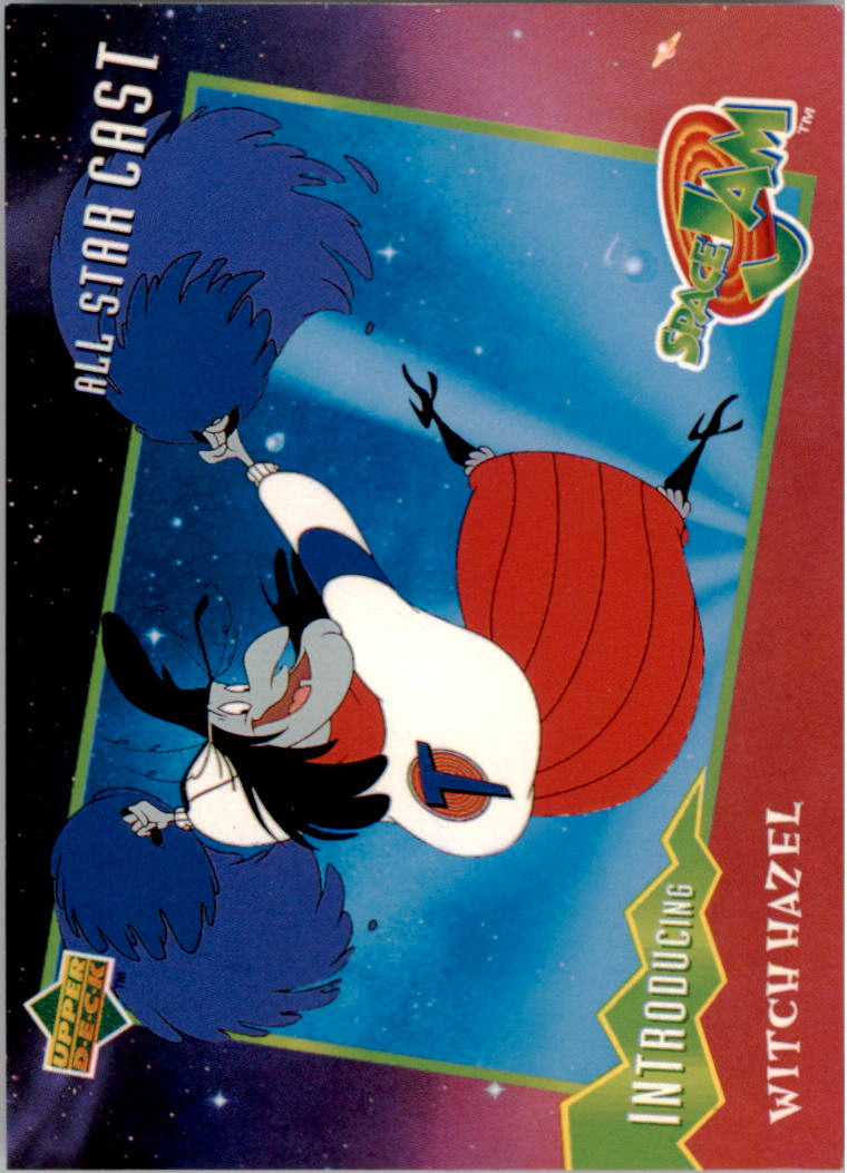 1996-97 Upper Deck Space Jam #18 Witch Hazel