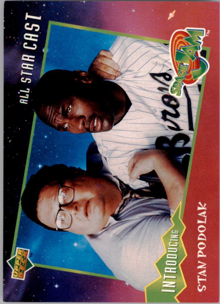 1996-97 Upper Deck Space Jam #19 Michael Jordan w/Stan Podolak
