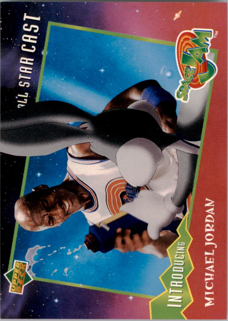 1996-97 Upper Deck Space Jam #23 Michael Jordan
