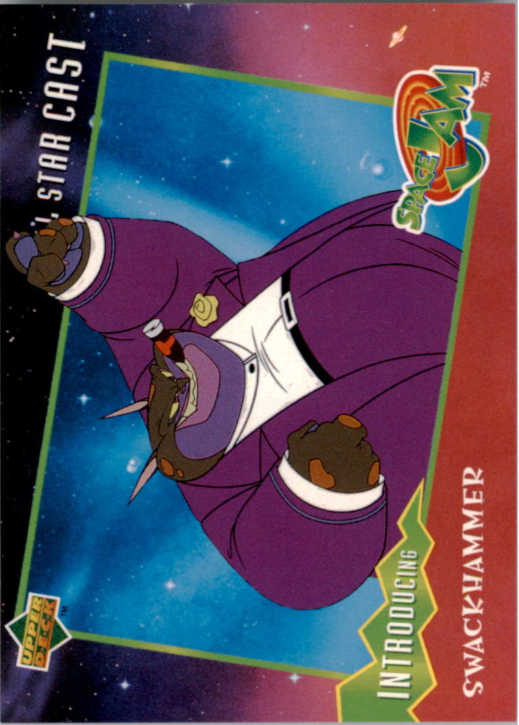 1996-97 Upper Deck Space Jam #25 Swackhammer