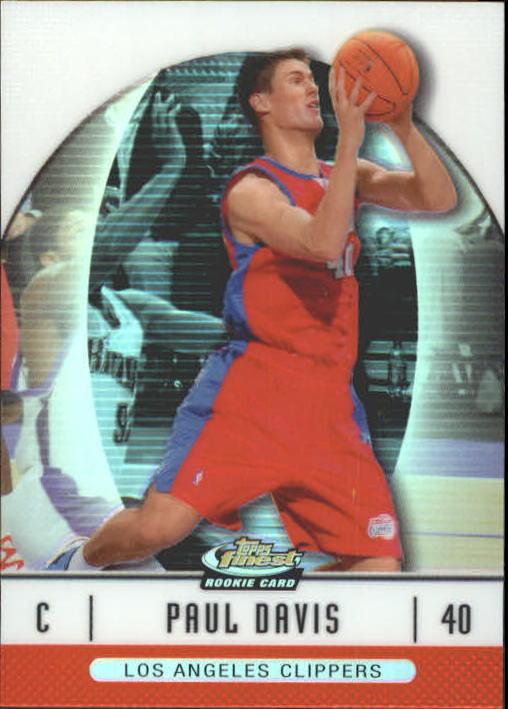 2006-07 Finest Refractors #84 Paul Davis