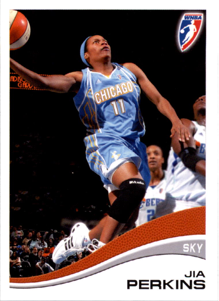 2007 WNBA #34 Jia Perkins RC