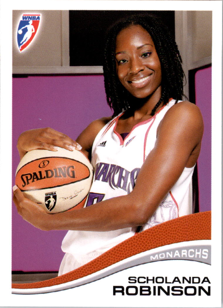 2007 WNBA #78 Scholanda Robinson RC