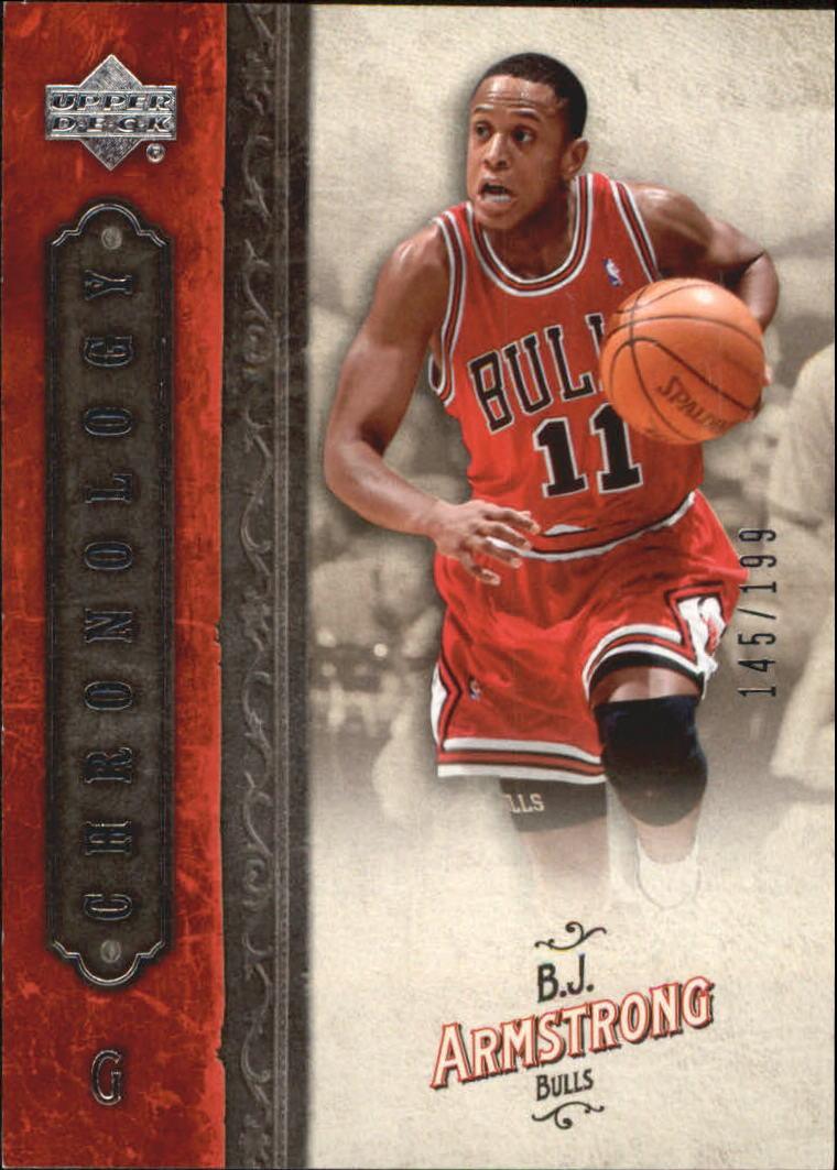 2006-07 Chronology #9 B.J. Armstrong