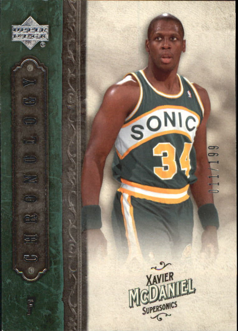 2006-07 Chronology #99 Xavier McDaniel