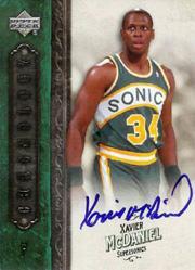 2006-07 Chronology Autographs #99 Xavier McDaniel