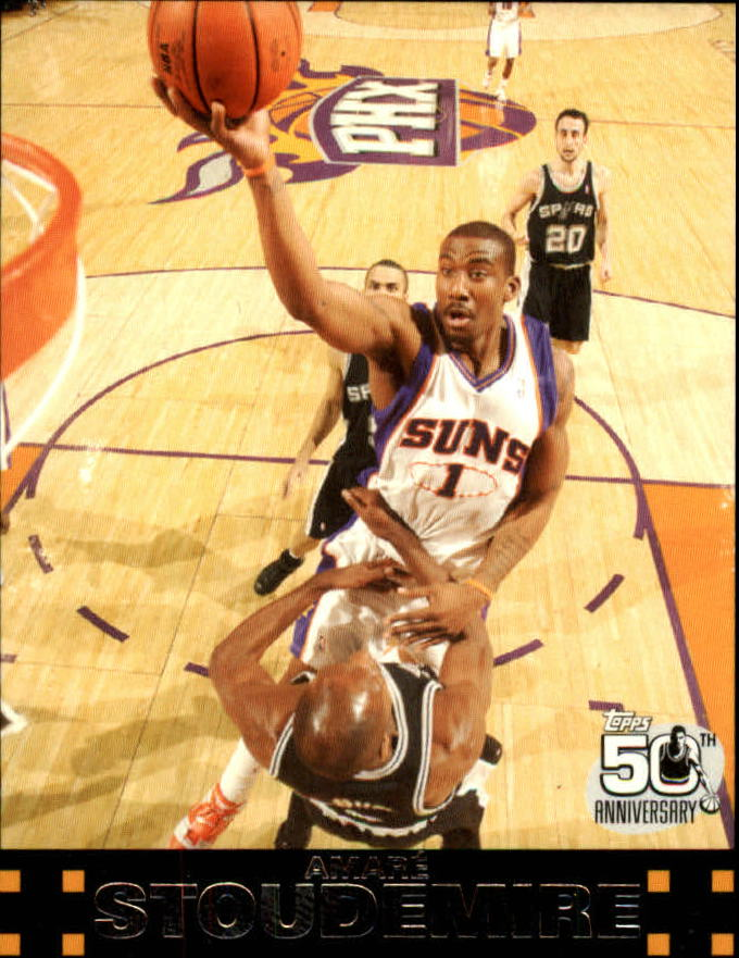 2007-08 Topps #1 Amare Stoudemire