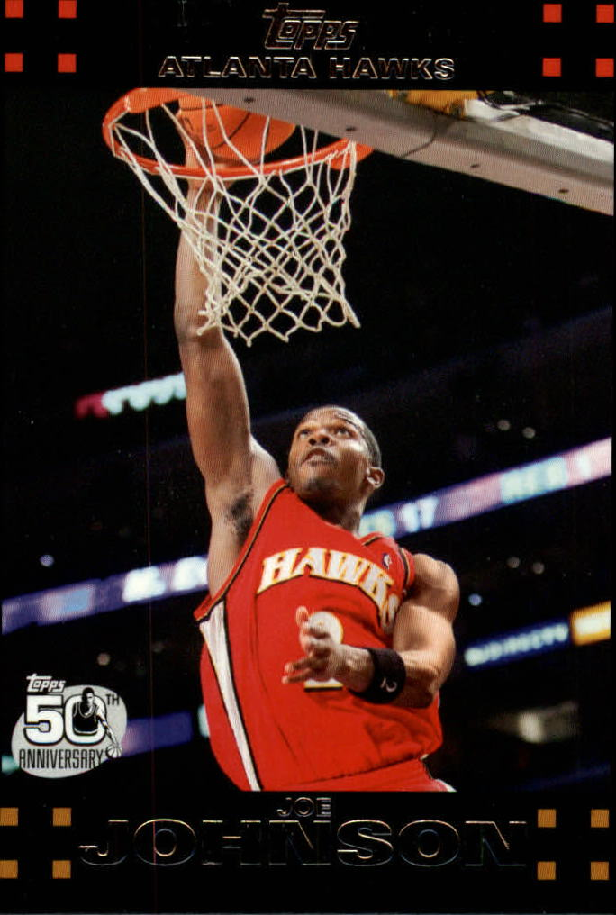 2007-08 Topps #2 Joe Johnson