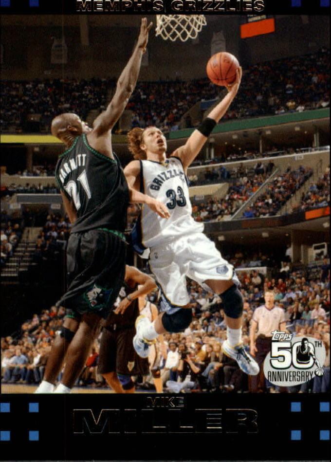 2007-08 Topps #8 Mike Miller