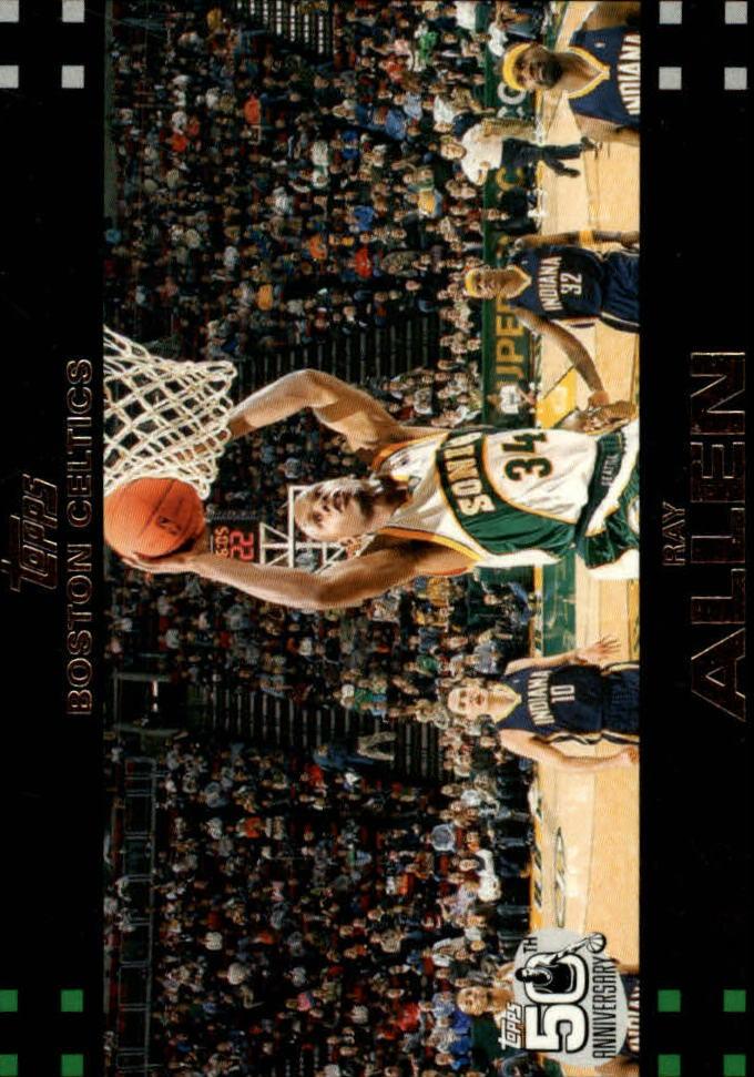 2007-08 Topps #9 Ray Allen