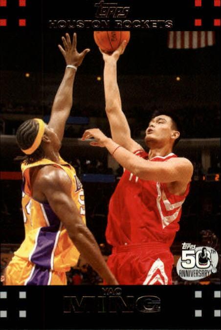 2007-08 Topps #11 Yao Ming