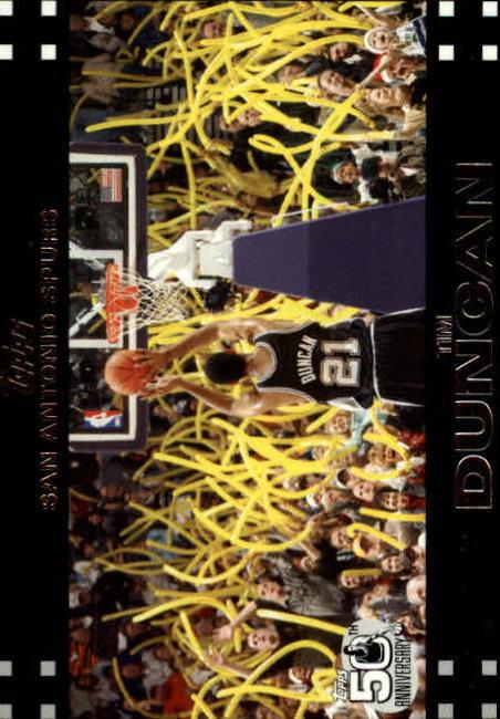 2007-08 Topps #21 Tim Duncan