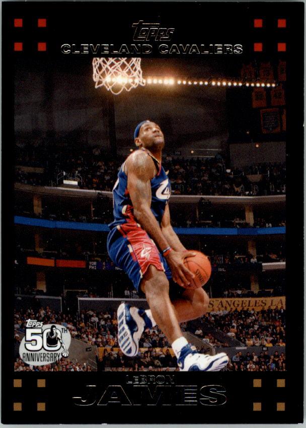 2007-08 Topps #23 LeBron James