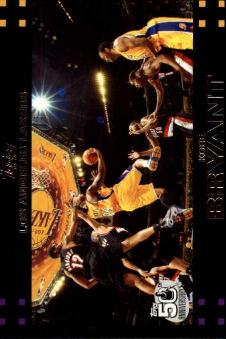 2007-08 Topps #24 Kobe Bryant