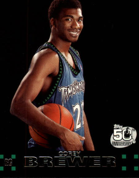 2007-08 Topps #117 Corey Brewer RC