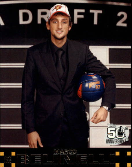 2007-08 Topps #128 Marco Belinelli RC