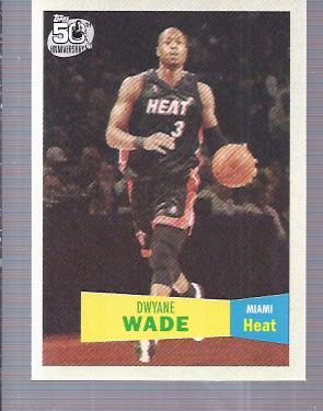 2007-08 Topps 1957-58 Variations #3 Dwyane Wade