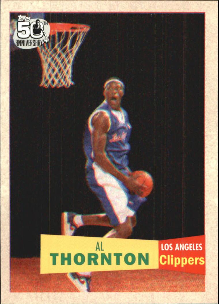 2007-08 Topps 1957-58 Variations #124 Al Thornton
