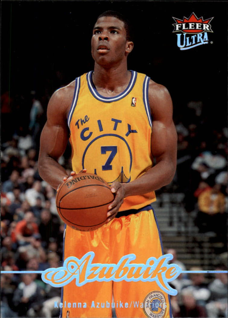 2007-08 Ultra SE Golden State Warriors Basketball Card  60 Kelenna ... 48ff46c90