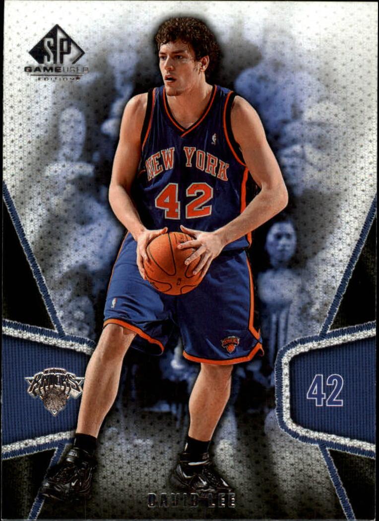 2007-08 SP Game Used #63 David Lee