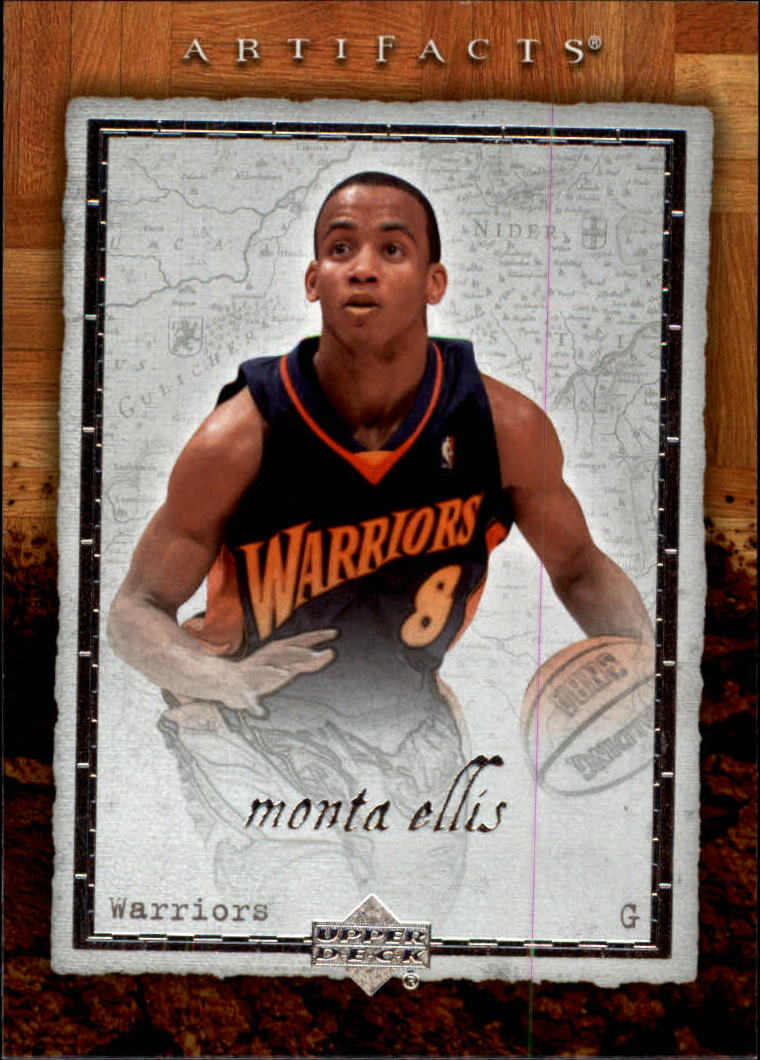 2007-08 Artifacts #29 Monta Ellis