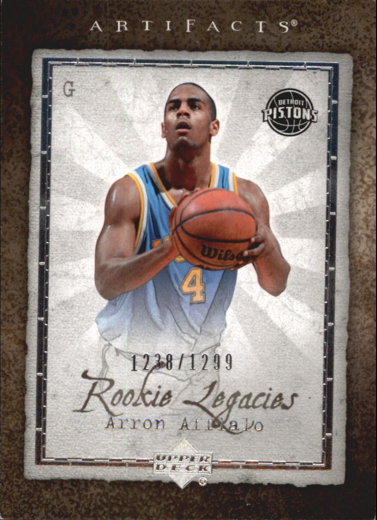2007-08 Artifacts #126 Arron Afflalo RC