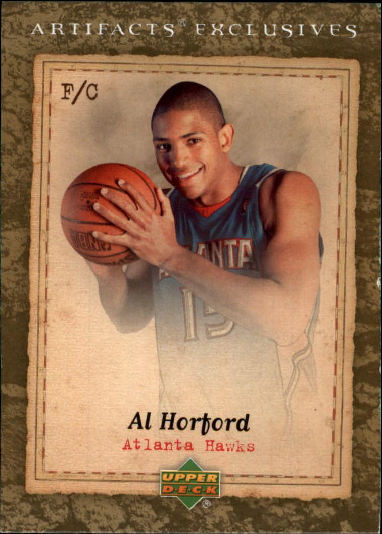 2007-08 Artifacts #206 Al Horford Uni EX
