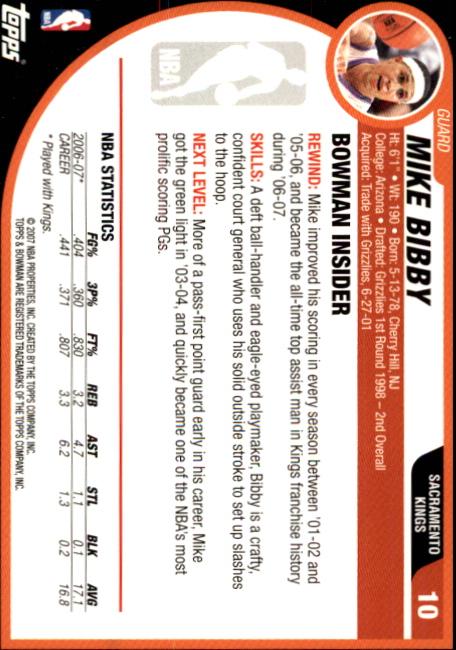 2007-08-Bowman-Basketball-1-110-Your-Choice-GOTBASEBALLCARDS thumbnail 21