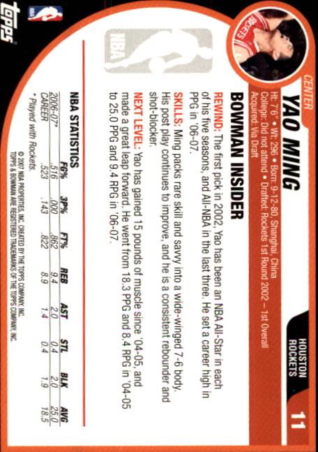 2007-08-Bowman-Basketball-1-110-Your-Choice-GOTBASEBALLCARDS thumbnail 23