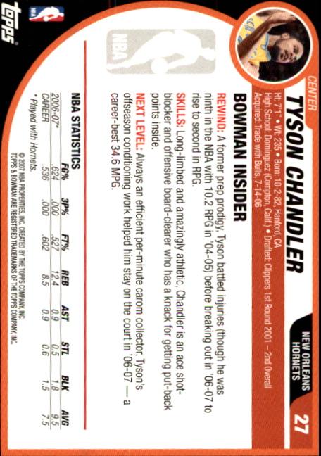 2007-08-Bowman-Basketball-1-110-Your-Choice-GOTBASEBALLCARDS thumbnail 53