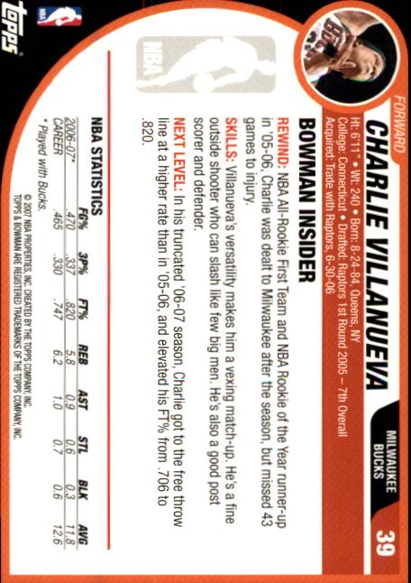 2007-08-Bowman-Basketball-1-110-Your-Choice-GOTBASEBALLCARDS thumbnail 73