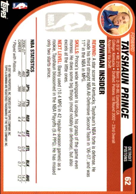 2007-08-Bowman-Basketball-1-110-Your-Choice-GOTBASEBALLCARDS thumbnail 119