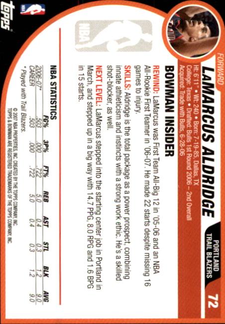 2007-08-Bowman-Basketball-1-110-Your-Choice-GOTBASEBALLCARDS thumbnail 139