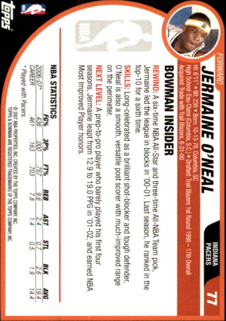 2007-08-Bowman-Basketball-1-110-Your-Choice-GOTBASEBALLCARDS thumbnail 149