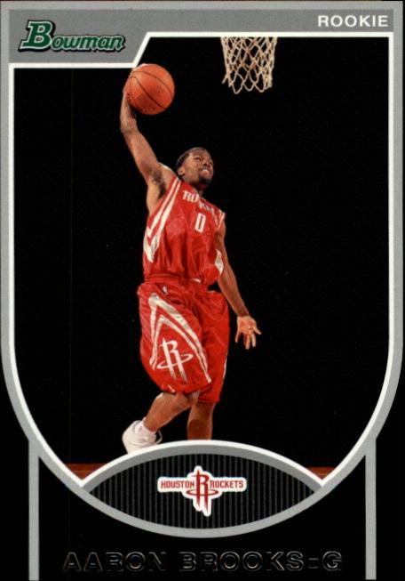 2007-08 Bowman #149 Aaron Brooks RC