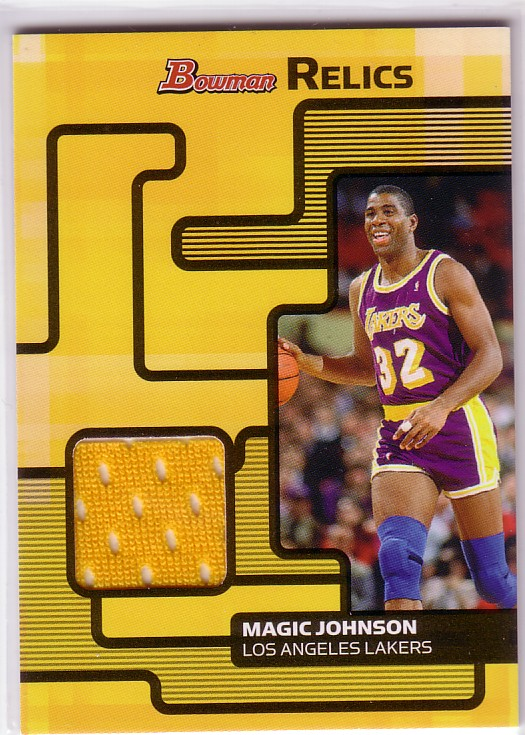 2007-08 Bowman Relics #MJ Magic Johnson