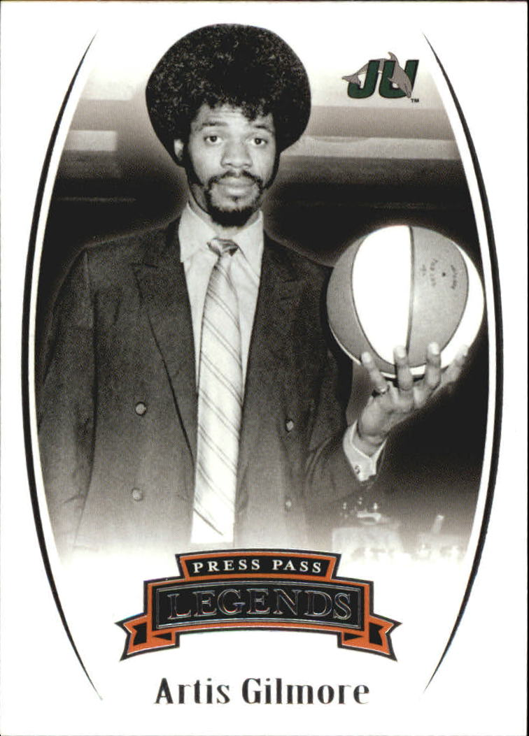 2007-08 Press Pass Legends #31 Artis Gilmore