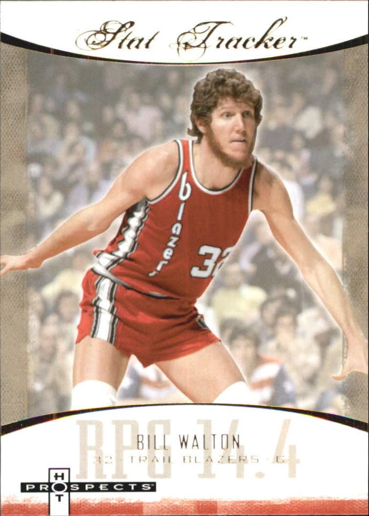 2007-08 Fleer Hot Prospects Stat Tracker #11 Bill Walton