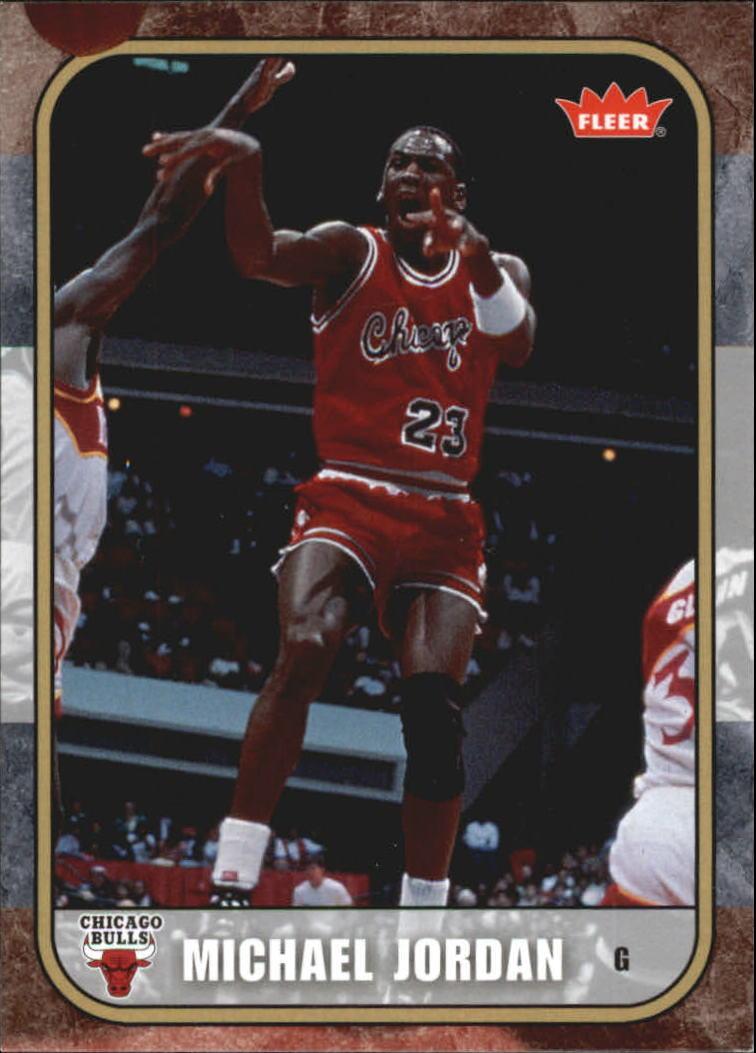2007 Fleer Michael Jordan #1 Michael Jordan