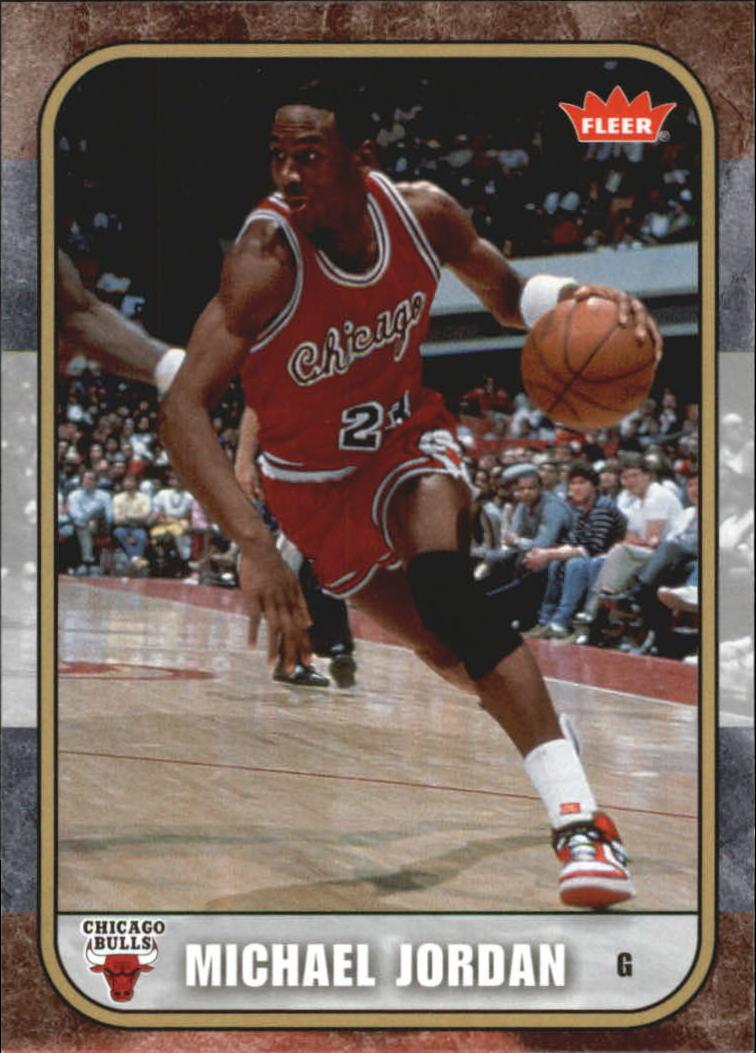 2007 Fleer Michael Jordan #3 Michael Jordan