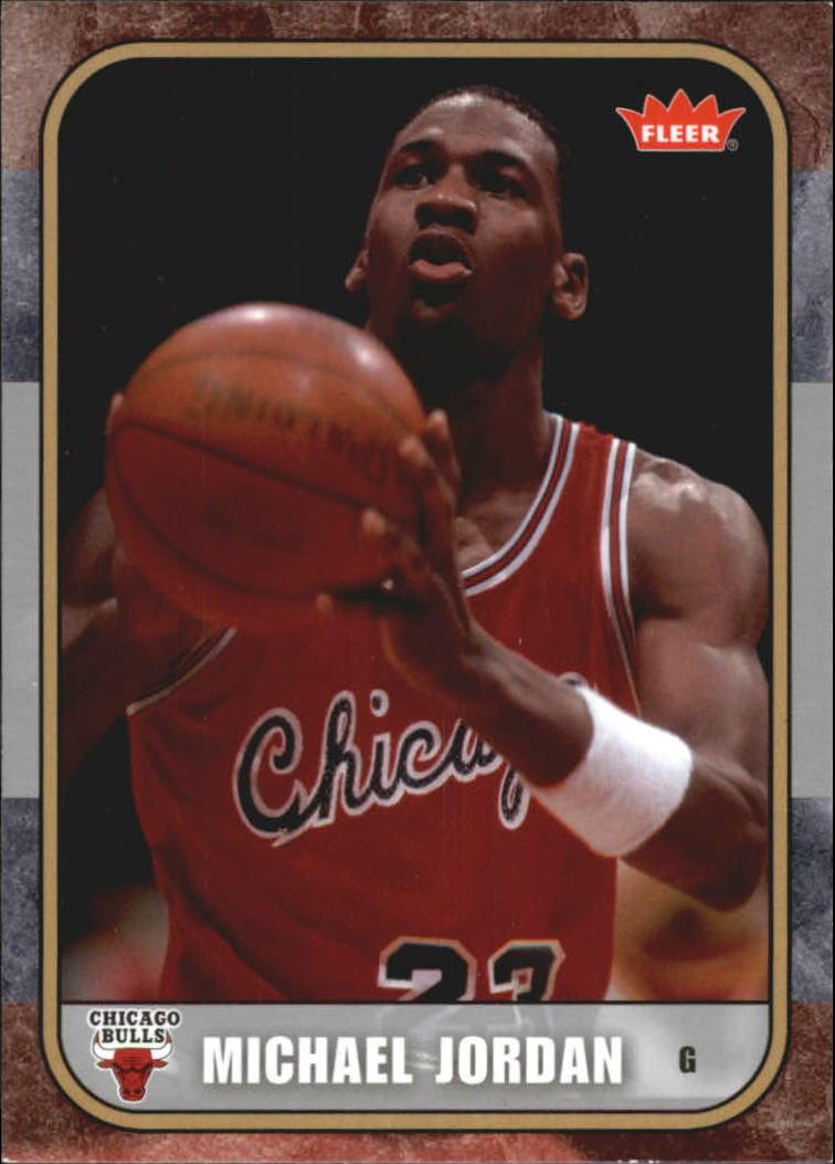 2007 Fleer Michael Jordan #4 Michael Jordan