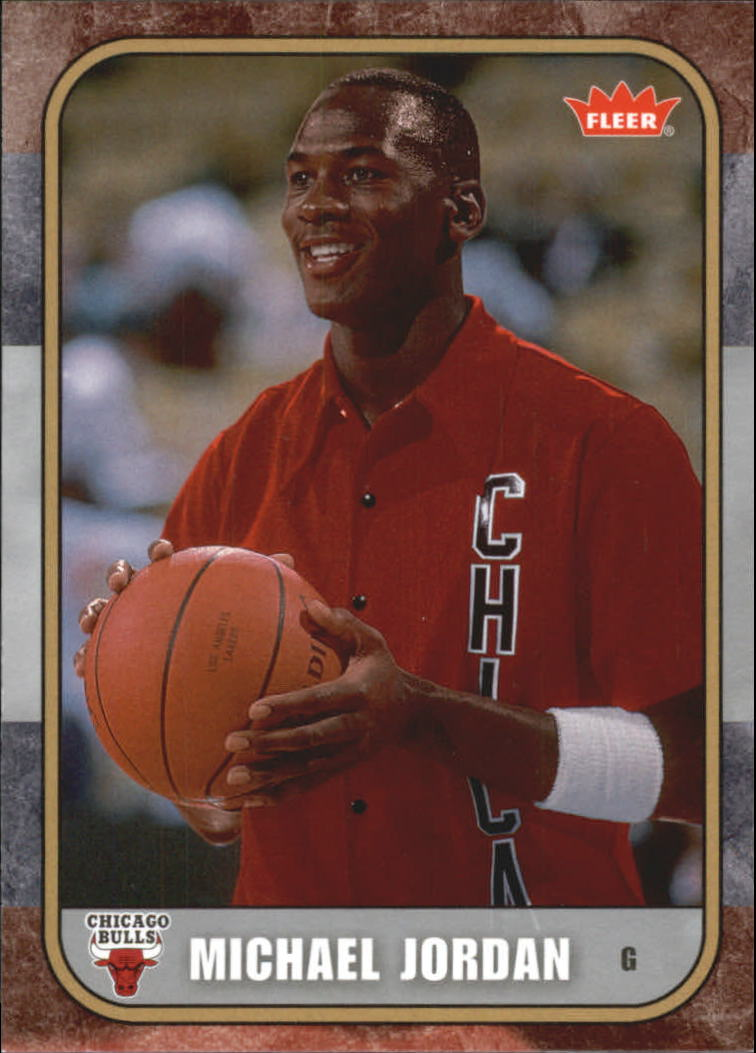 2007 Fleer Michael Jordan #5 Michael Jordan