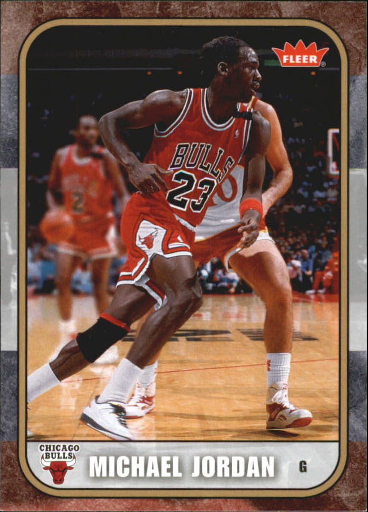 2007 Fleer Michael Jordan #6 Michael Jordan