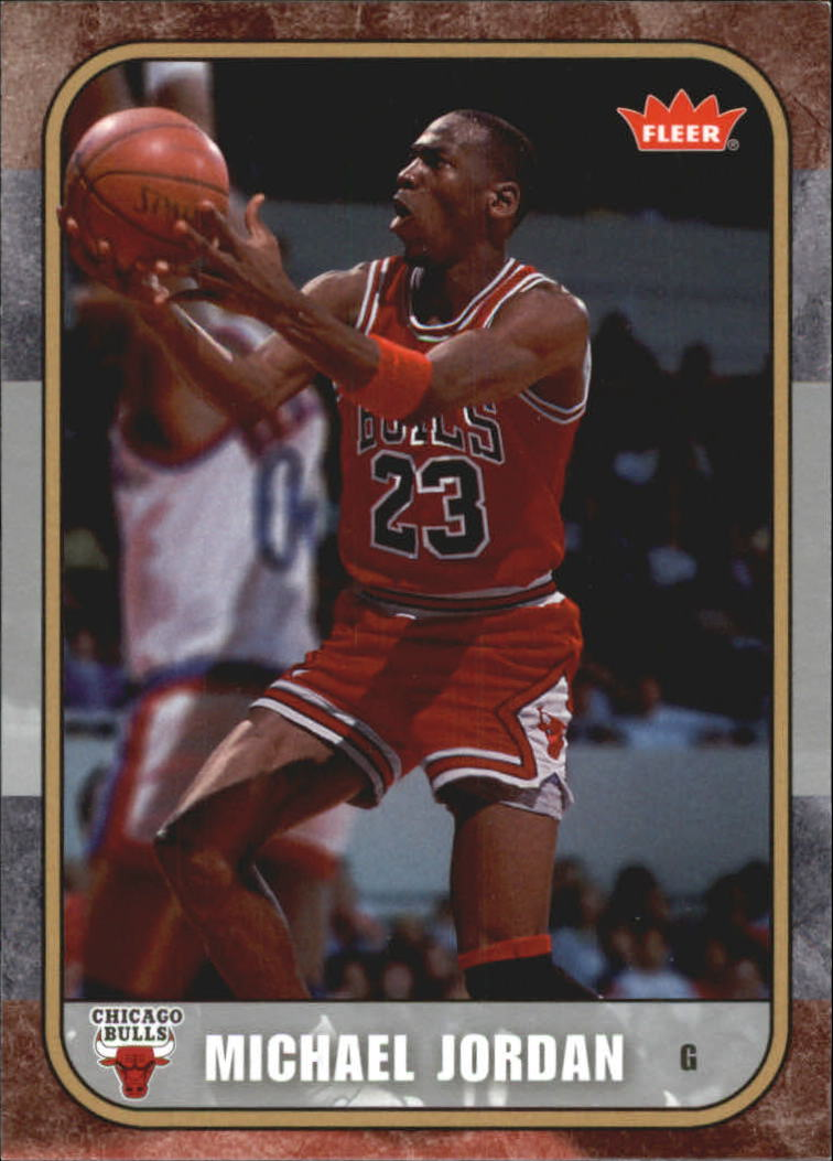 2007 Fleer Michael Jordan #8 Michael Jordan
