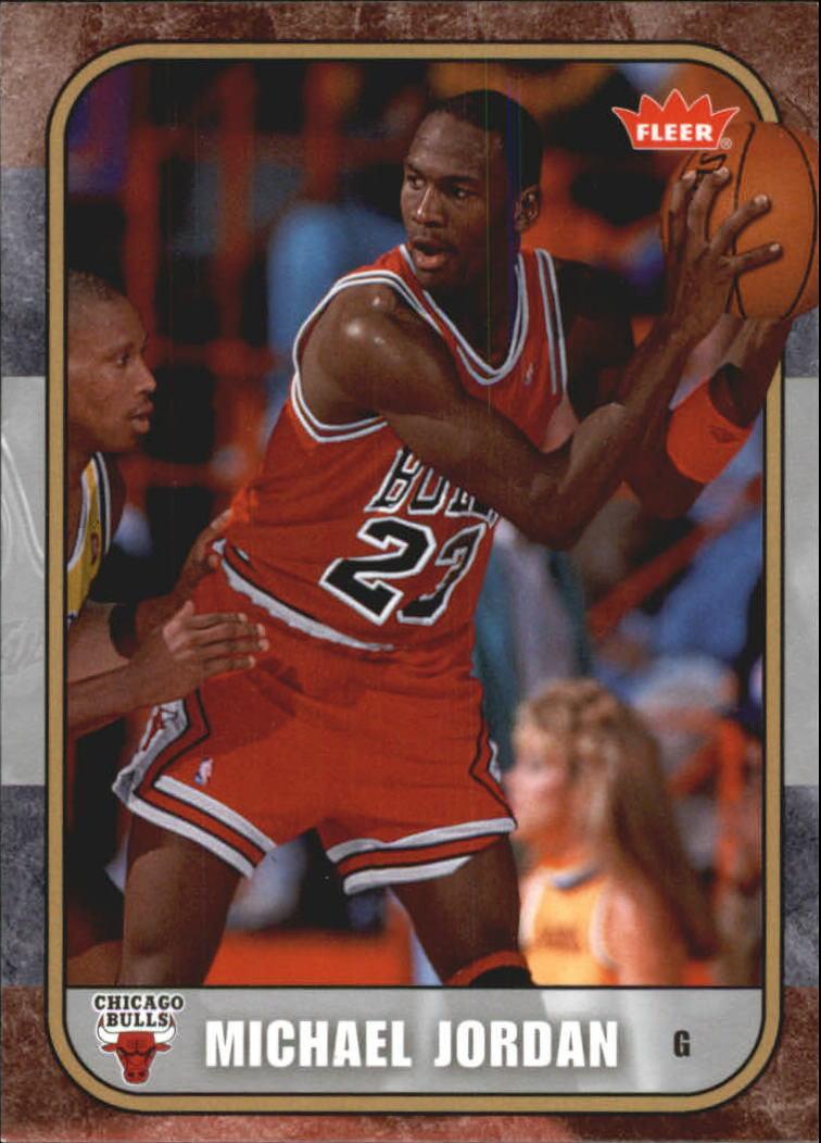 2007 Fleer Michael Jordan #9 Michael Jordan