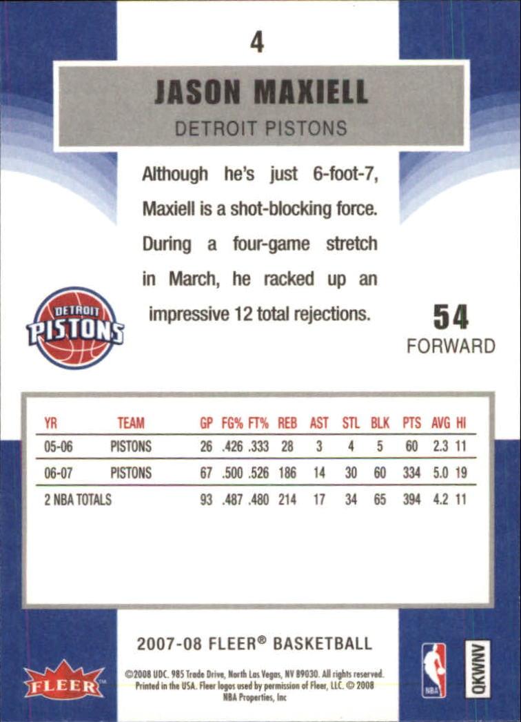 2007-08-Fleer-Basketball-1-250-Your-Choice-GOTBASEBALLCARDS thumbnail 7